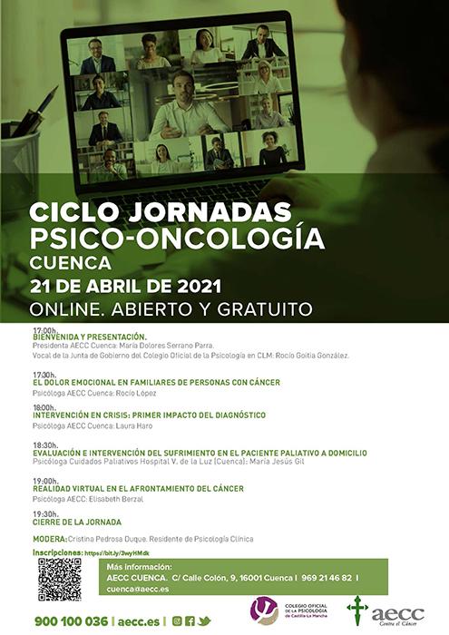 La Asociación Española Contra el Cáncer y el Colegio Oficial de la Psicología organizan las I Jornadas de Psicooncología