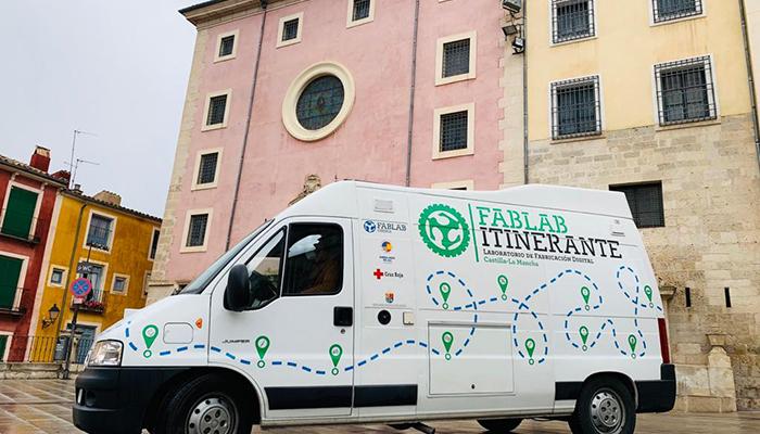 La Diputación de Cuenca se une como colaborador al proyecto FabLab Itinerante junto a Cruz Roja y la Embajada de EE.UU
