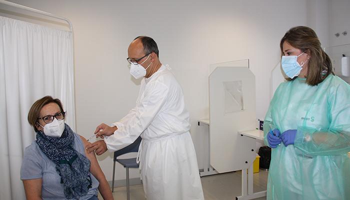 La Gerencia del Área Integrada de Cuenca comienza la vacunación del grupo de edad entre los 56 y los 65 años