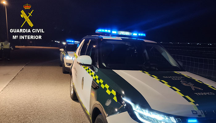 La Guardia Civil investiga en Cuenca a una persona por un delito de lesiones por imprudencia en concurrencia con otro de conducción temeraria