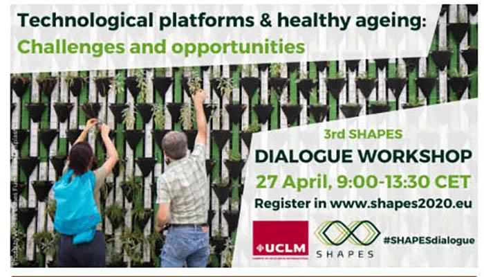 La UCLM analizará el impacto que las plataformas tecnológicas tienen en el envejecimiento activo y saludable