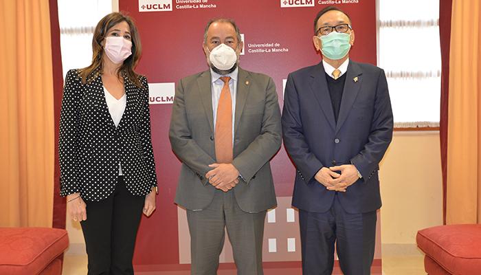 La UCLM estrecha relaciones con Taiwán para el intercambio de estudiantes