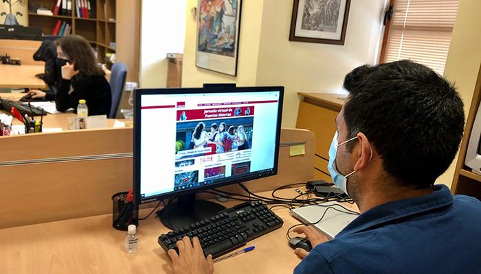 La UCLM reactiva la web uclm.es y la conectividad al conjunto del personal de administración y servicios