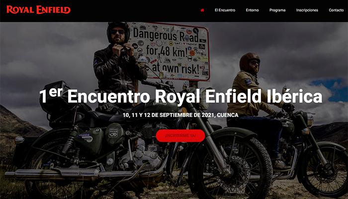 Los entusiastas de Royald Enfield eligen Cuenca para su primer encuentro oficial