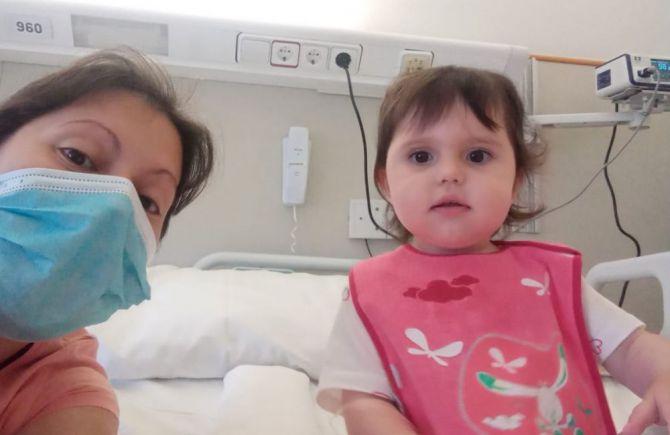 María Sheyla, una niña de Villaverde y Pasaconsol con epilepsia es curada gracias a una novedosa intervención con láser