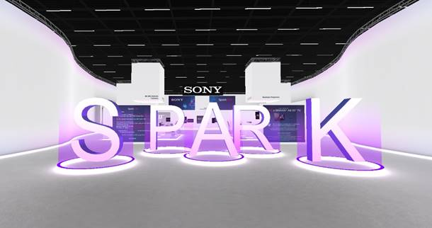 Sony celebra Spark 2021, su innovador evento de experiencia virtual para los sectores corporativo y educativo