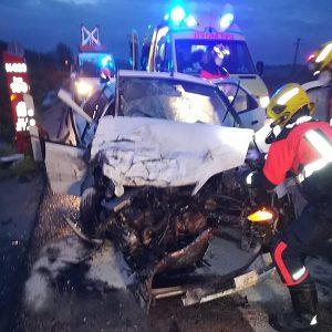 Trasladados al hospital Virgen de la Luz tras sufrir un accidente en la N-320