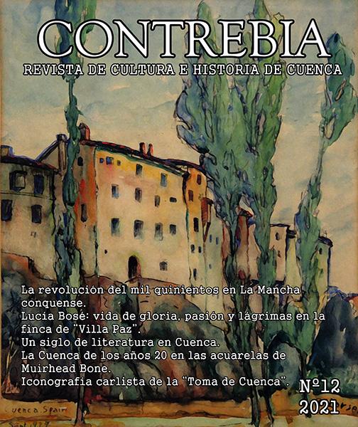 """""""Un siglo de literatura conquense"""" en la revista de cultura e historia de Cuenca """"Contrebia"""""""