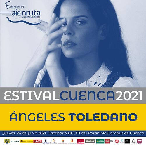 Ángeles Toledano y Al son de la rumba protagonizarán la velada del jueves 24 de junio en el paraninfo de la UCLM de Cuenca