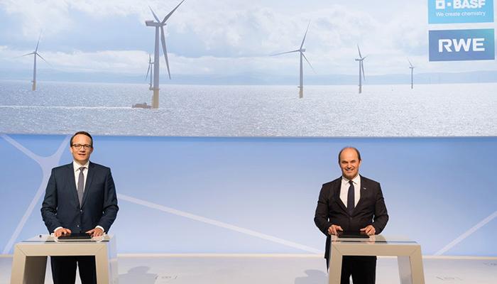 BASF y RWE planean colaborar en nuevas tecnologías para la protección del clima