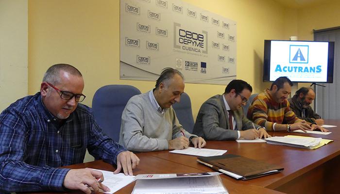 CEOE-Cepyme Cuenca y sindicatos retoman la negociación del convenio colectivo de transporte de mercancías
