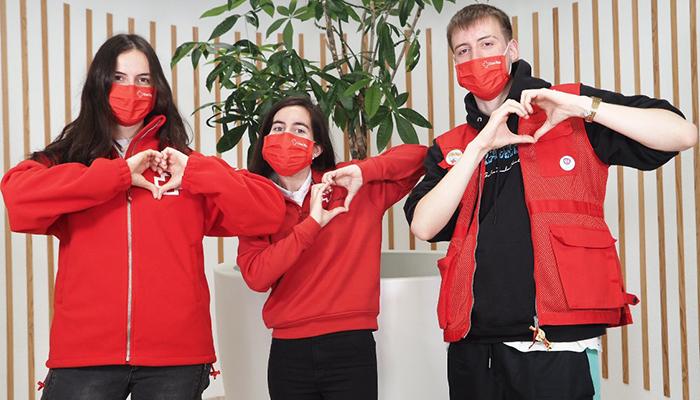 Cruz Roja invita a hacer latir en redes sociales un gran corazón que muestre que como sociedad somos imparables