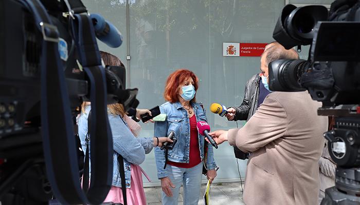 'Cuenca, En Marcha!' denuncia ante la fiscalía el derrumbamiento de la Calle Canónigos