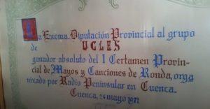 diploma premio | Informaciones de Cuenca