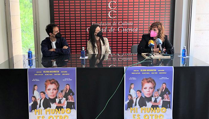 El Auditorio de Cuenca acoge este sábado 'Mi mundo es otro', propuesta del conquense Javier Muñoz protagonizada por Belinda Washington