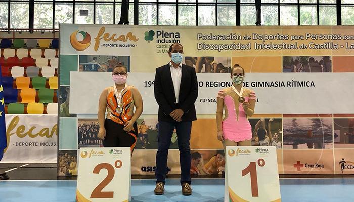 El Ayuntamiento de Cuenca está dispuesto a acoger vigésima edición del Campeonato Regional de Gimnasia Rítmica para personas con discapacidad