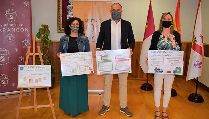 El Ayuntamiento de Tarancón pone en marcha una campaña de concienciación en materia de reciclaje