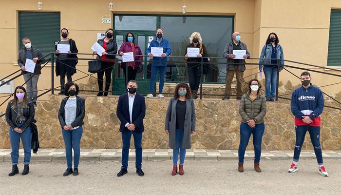 El Gobierno regional ha destinado alrededor de 93.000 euros a la contratación de diez personas en la localidad de Villalpardo