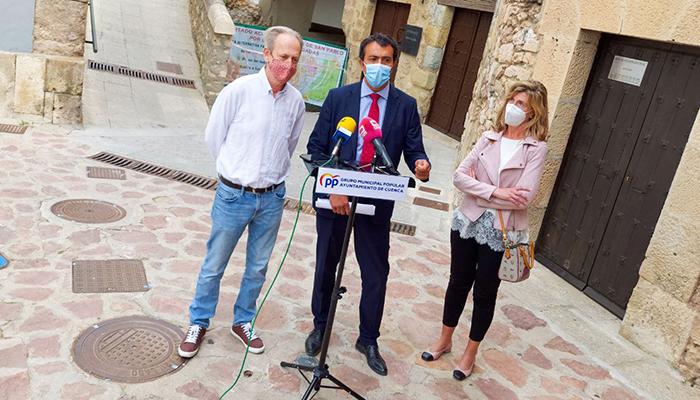 """El Grupo Popular acusa a Dolz de """"ocultar"""" parte del informe de Aguas de Cuenca que desmonta sus acusaciones al anterior equipo de gobierno"""