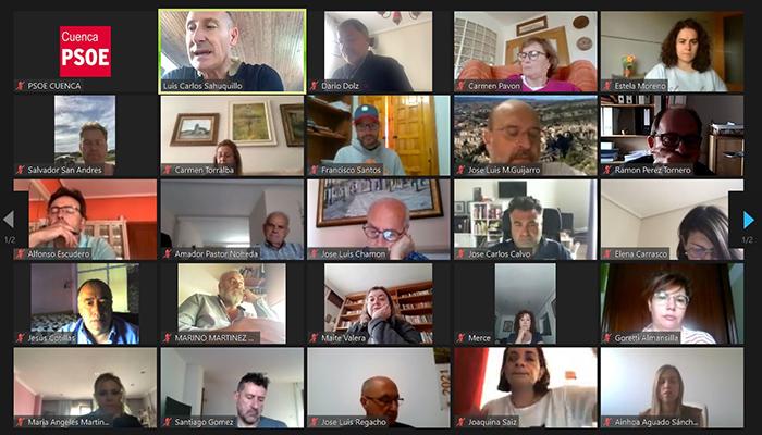 El PSOE de Cuenca está muy satisfecho con la gestión que se ha hecho..., a pesar del Covid