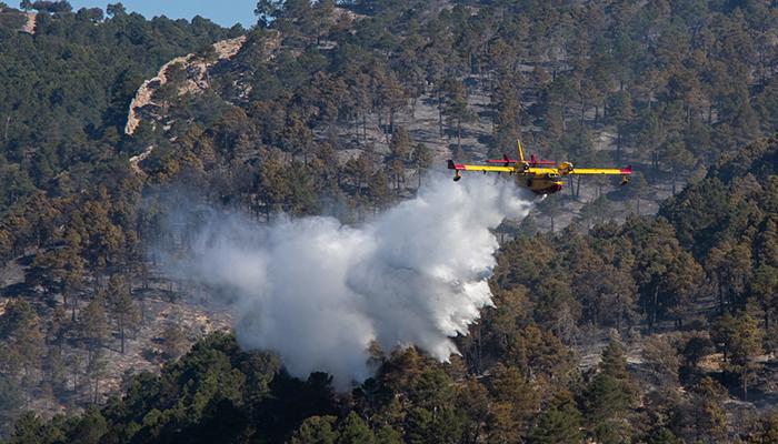 Este es el dispositivo de apoyo del Gobierno en Castilla-La Mancha para prevención y extinción de incendios forestales