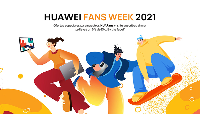 Huawei premia a sus fans con grandes ofertas durante la Huawei Fans Week 2021