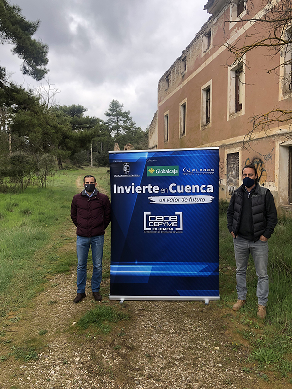 Invierte en Cuenca apoya el proyecto de desarrollar un complejo turístico en el balneario de Valdeganga