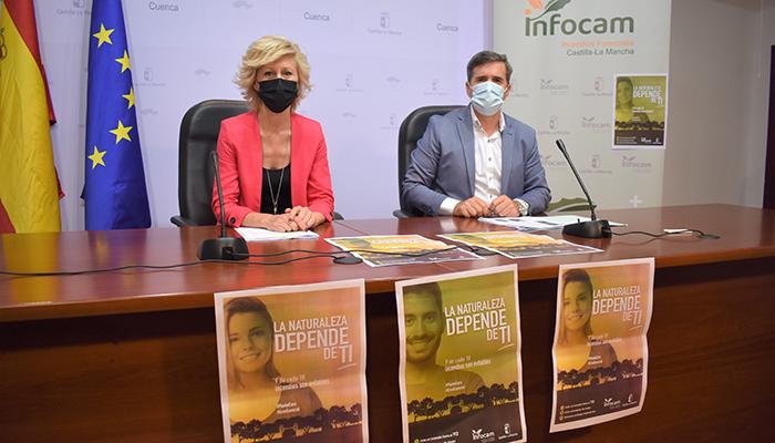La campaña de prevención y extinción de incendios forestales 2021 en Cuenca cuenta con un presupuesto superior a los 19 millones de euros