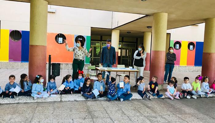 La Diputación de Cuenca celebra el Día de la Biodiversidad con un centenar de niños de los colegios Federico Muelas y El Carmen