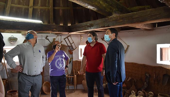La Diputación de Cuenca colabora con el Ayuntamiento de Mota del Cuervo en la restauración del Molino de Piqueras