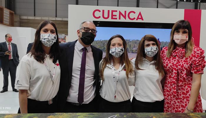 La Diputación de Cuenca hace un balance positivo de su paso por FITUR y espera que sea un punto de inflexión para el turismo