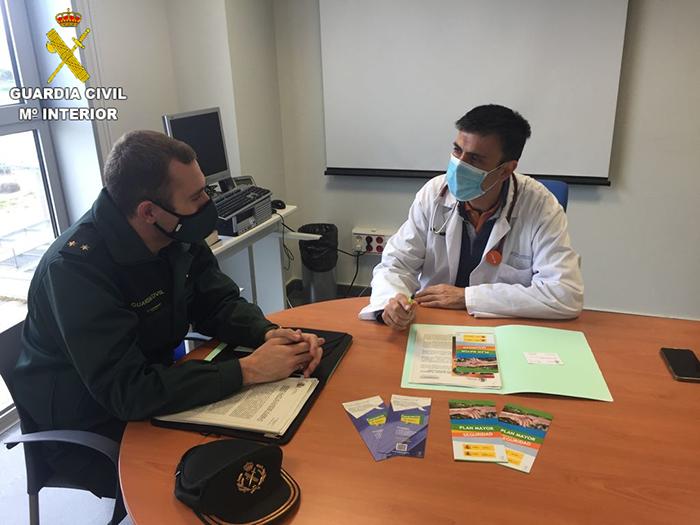 La Guardia Civil refuerza la colaboración y la coordinación con los profesionales sanitarios en Tarancón