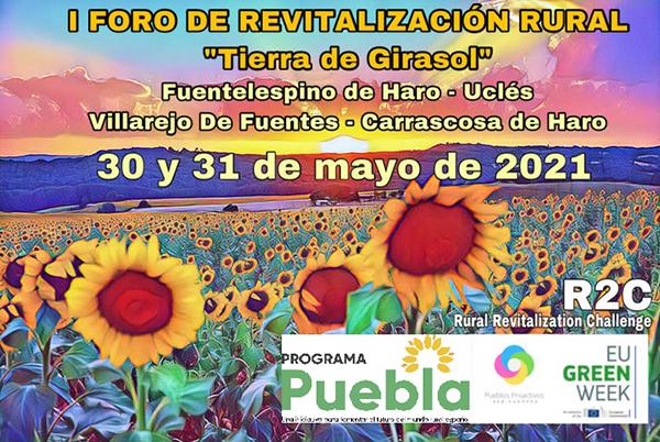 La Red de Pueblos Proactivos organiza el primer Foro de Revitalización Rural