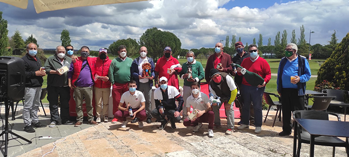 La Ryder Cuenca Golf Club vs La Vereda termina sin ganador y buscando nuevas fechas para la revancha