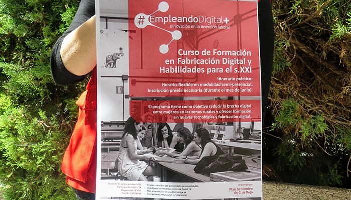Mujeres de zonas rurales serán formadas en sectores tecnológicos y digitales por Cruz Roja Cuenca