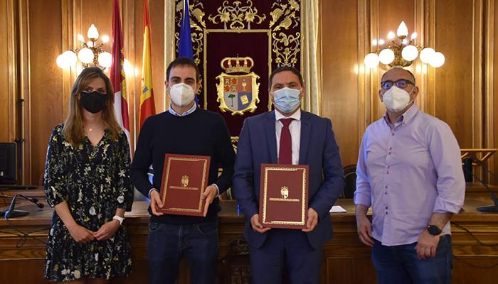 Renovado el convenio entre la Diputación de Cuenca y el Colegio Territorial de Secretarios, Interventores y Tesoreros de la Administración Local para impartir seis cursos formativos