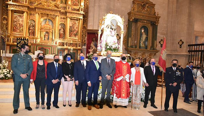 San Clemente despide a su patrona la Virgen de Rus con la vista puesta en el año 2022