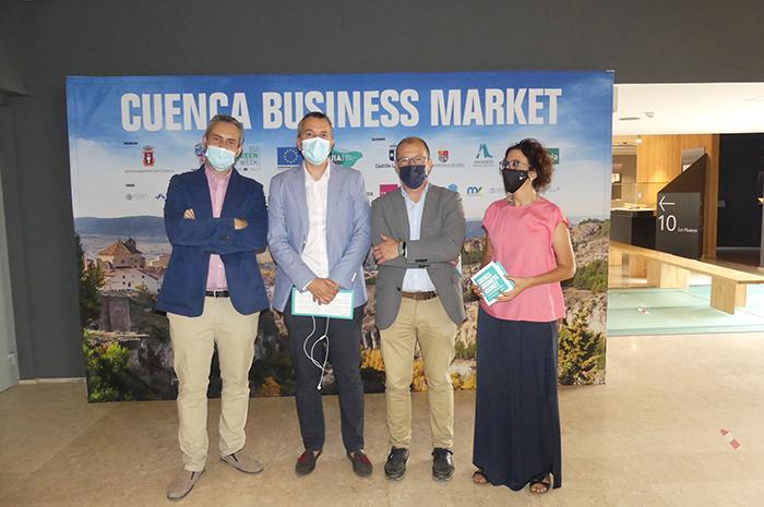 CEOE-Cepyme Cuenca asiste al Cuenca Business Market para propiciar la conexión entre emprendedores e inversiones