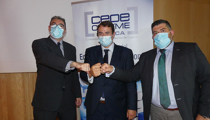 CEOE-Cepyme Cuenca firma un convenio con Cuenca Exports Food para apoyar la internacionalización de sus empresas
