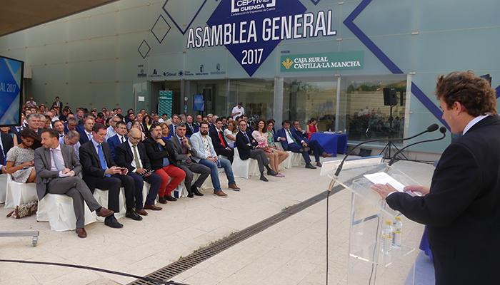 CEOE-Cepyme Cuenca vuelve a realizar una Asamblea General presencial en el MUPA