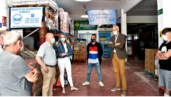 Cuenca inicia la distribución de alimentos a personas desfavorecidas dentro del Programa de Ayuda Alimentaria 2021