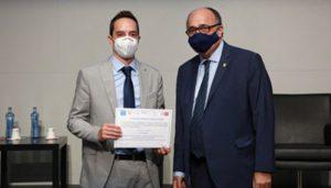 el director de la unidad de control interno de la uclm recibe el premio ferran termes 2021   Informaciones de Cuenca