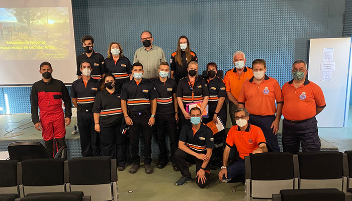 El Gobierno regional forma en Cuenca a 17 voluntarios de Protección Civil en la búsqueda de personas desaparecidas