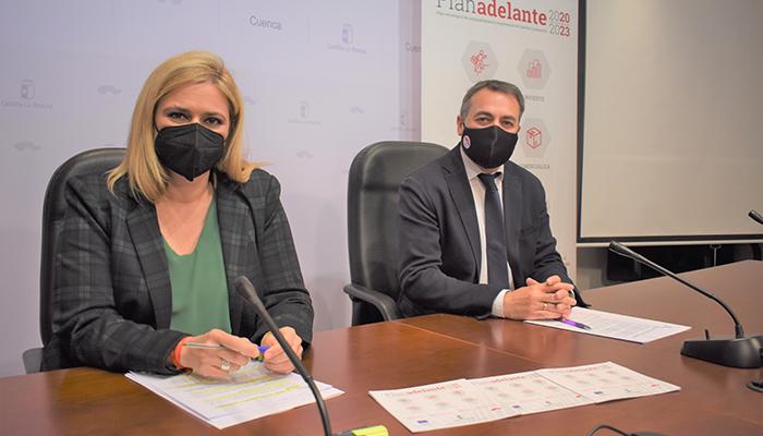 El Gobierno regional ha tramitado en la provincia de Cuenca 841 solicitudes del Plan Adelante con una inversión de 69 millones de euros