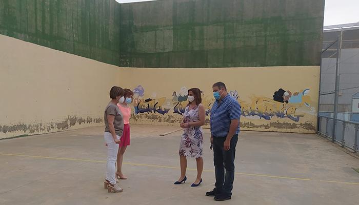El Gobierno regional mejorará y reformará el colegio público de Casas de Fernando Alonso con una inversión de 20.000 euros