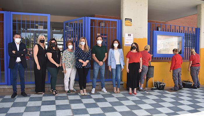 El Gobierno regional y el Ayuntamiento de Cuenca ponen en marcha un nuevo programa RECUAL para actuar en centros educativos