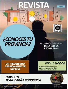 El IES Fernando Zóbel crea un proyecto educativo para dar a conocer la provincia de Cuenca
