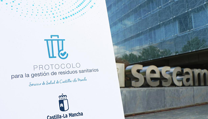 El Servicio de Salud de Castilla-La Mancha edita un nuevo protocolo para la gestión de residuos sanitarios