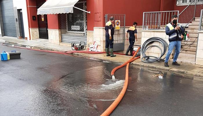 El temporal sólo afecta a Fuente de Pedro Naharro en Cuenca y pasa de largo en Guadalajara