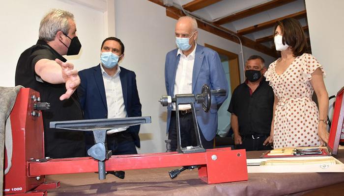 Inaugurado el primer Centro de Oficios Artesanos de Castilla-La Mancha que está ubicado en la Casa del Curato